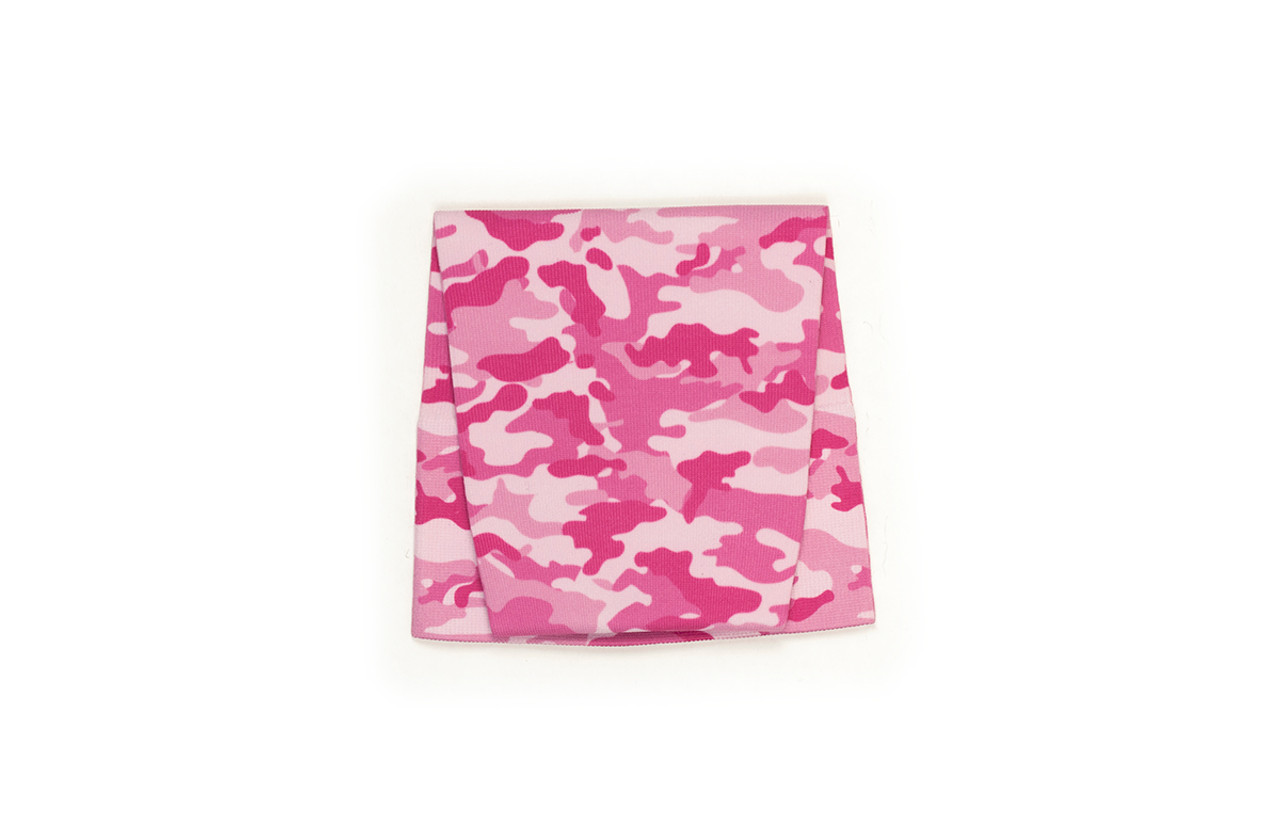 Camouflage Pink Pattern Swatch