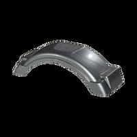 """Fulton Silver Plastic Trailer Fender - 8""""-12"""" Tire Size - 008569"""