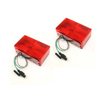 Trailer Brake Light Kit - Rectangular INCANDESCENT [under 80 (3-wire)] - Submersible