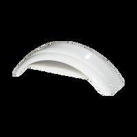 "Fulton White Plastic Trailer Fender - 8""-12"" Tire Size - 008540"