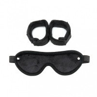 Soft Cuffs with Mask
