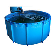 "Round Koi Pond Show Tank 78.7"" x 31.5"" (663gal)"
