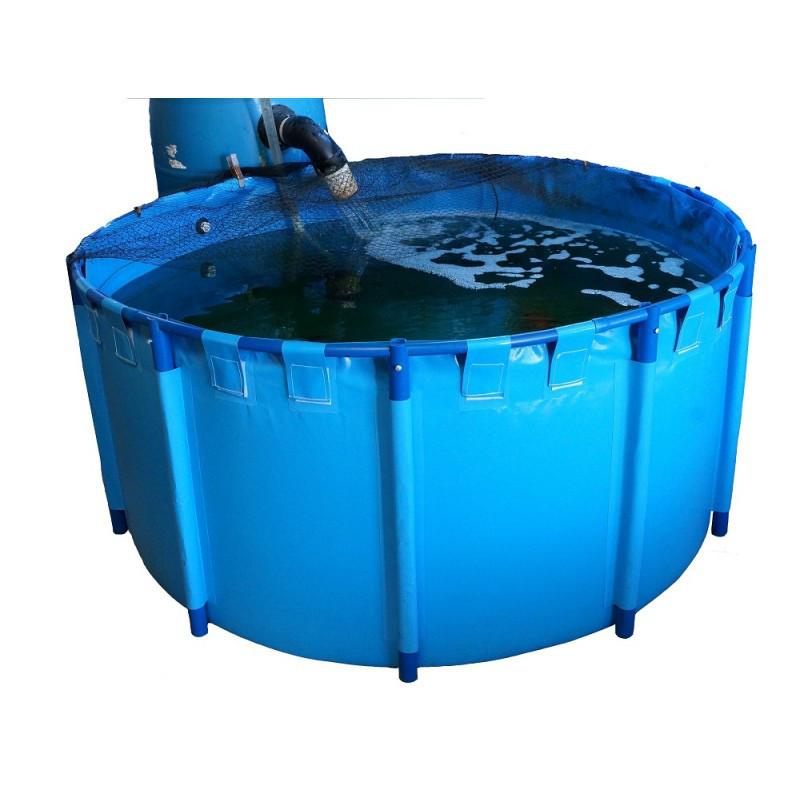 Round koi pond show tank 118 x 39 4 1868gal shark for Koi show pools