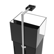 Aqua Illumination EXT Tank Mount for Sol / Vega / Hydra LED Fixtures (Black)