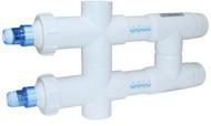 """Aqua UV 114 Watt 2 inch UV Sterilizer + 4 Free 4"""" Filter Socks"""