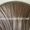 Real Density of our Hand Tied Wefts. Professionally Reinforced!  Virgin Russian Hair®  Russian Hair Extensions®