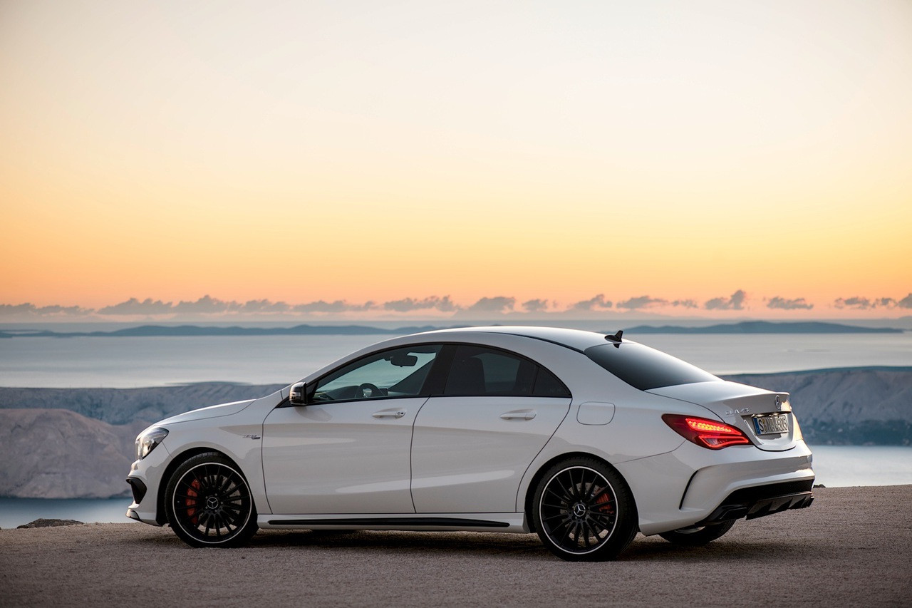 cla 45 amg tuning. Black Bedroom Furniture Sets. Home Design Ideas