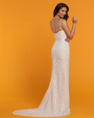 This wedding dress also comes in Ivory/Ivory.