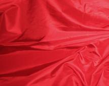 Nylon Taffeta Lining Knit Fabric Silky Shiny Finish Crimson Red