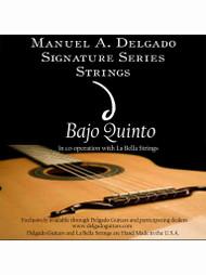 Delgado Bajo Quinto Signature Strings