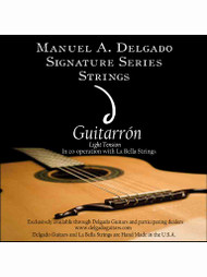 Delgado Guitarrón Signature Strings (Light Tension)