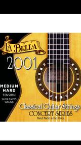 La Bella 2001 Medium Hard Classical Guitar Strings