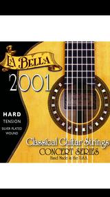 La Bella 2001 Hard Tension Classical Guitar Strings