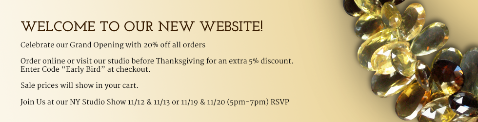 Celebrate our Grand Opening with 20% off all orders