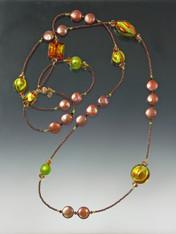 Opulent Bronze Pearl Venetian Lime Rope