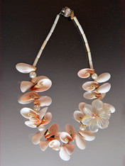 Aloha Mother of Pearl Statement Necklace