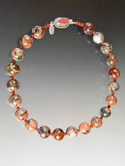 Multi-Jasper Marble Collar - ONE OF A KIND