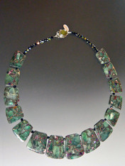Geometric Fluorite Collar