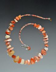 Fire Opal Collar