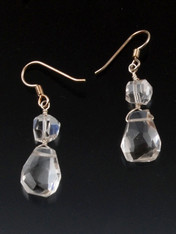 Crystal Clear Earrings