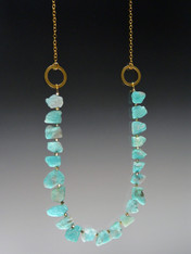 Amazonite 24k Ultraplate Chain Necklace