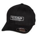 Hat - MESA Engineering - Black Flexfit Brushed Twill