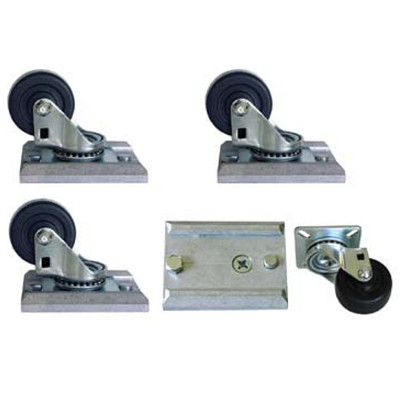 "Caster Set  - 2"" Track-Loc Removable"