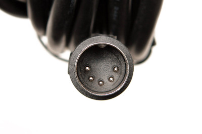 Cable - 5 Pin Din, Male to bare wire - 15 ft.