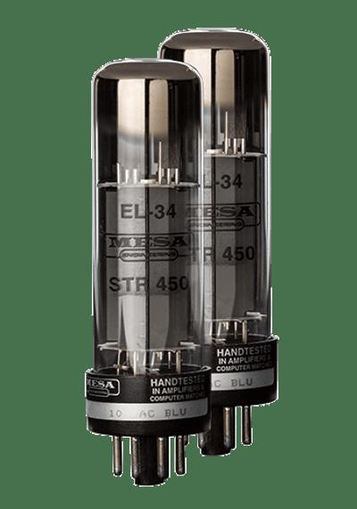 Power Tubes - EL34 STR 450 Siemens NOS  - Matched Pair