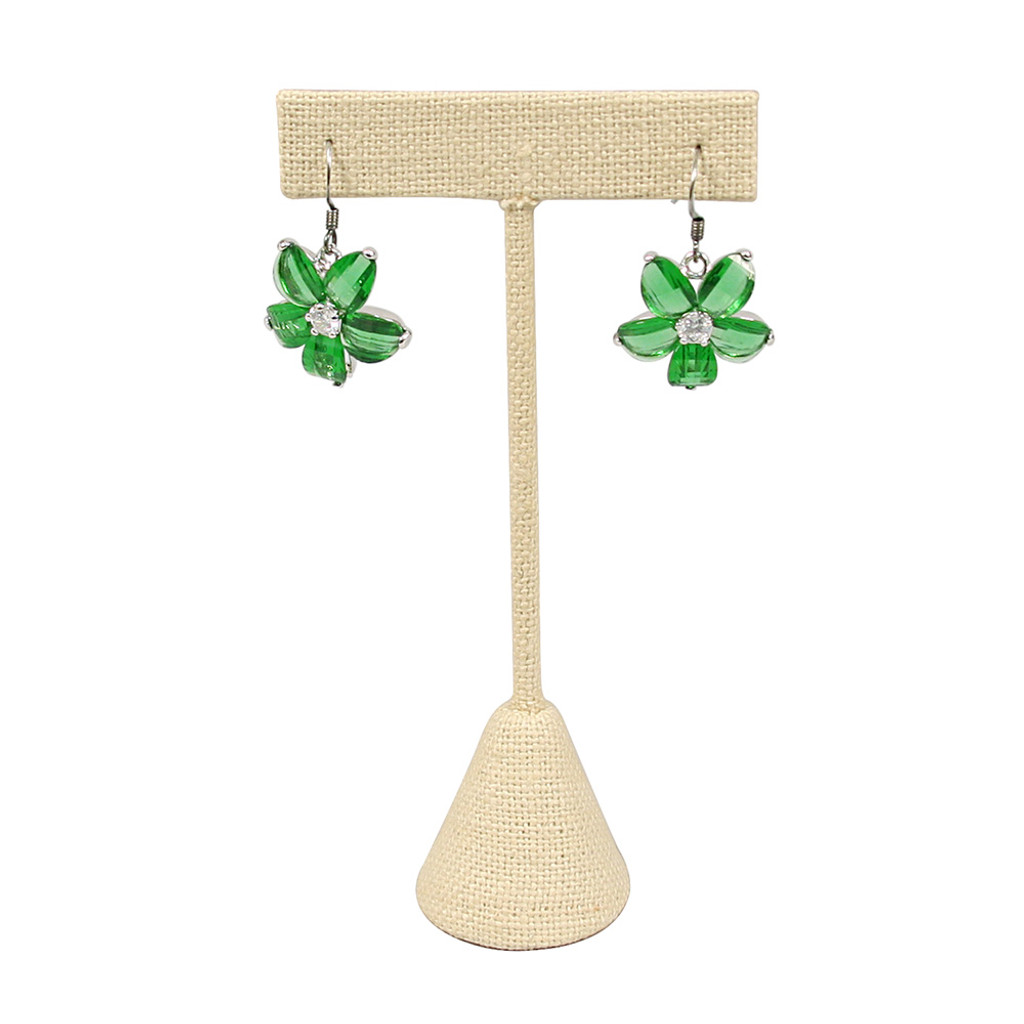 T-Shape Linen Earring Display (Choose from various sizes)