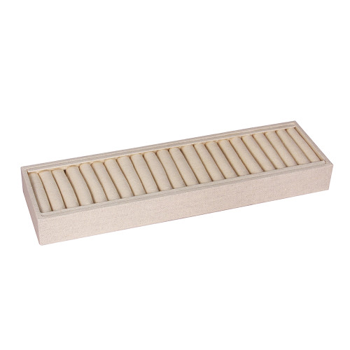 "Bangle Tray 21 Slot, 14 3/4"" x 4 1/4"" x 1 1/2"" , (Choose from various Color)"