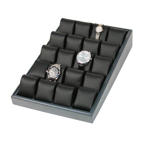 """20-Watch display tray, 10"""" x 16"""" x 3""""H, Choose from various Color"""