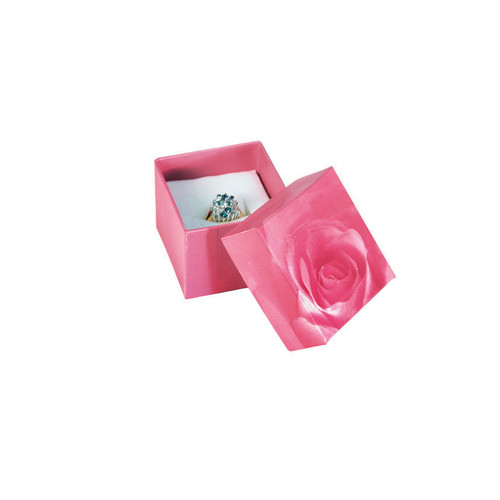 Rose print jewelry box, Choose from various Size