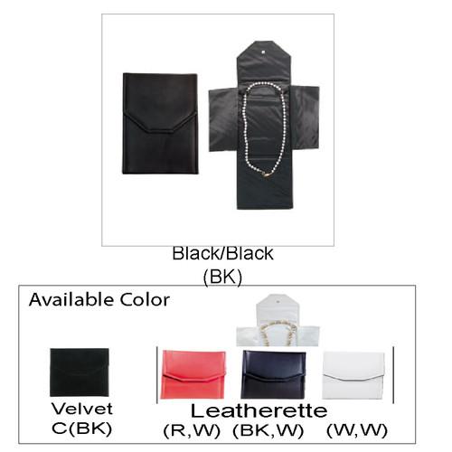 "Necklace Leatherette Folder, 5 1/2"" x 7 1/4"","