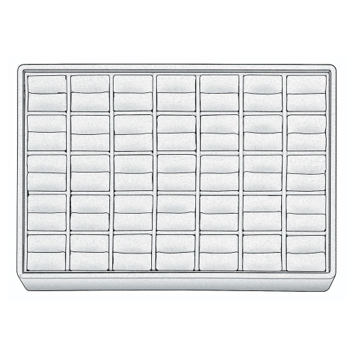 "Stackable Ring Tray, 12 1/2"" W x 8 3/4"" D x 1 7/8"" H RT1235 (WH)"