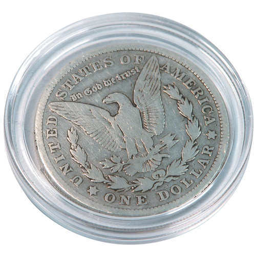 "Clear Coin Holder, Inner Dia. 1 5/8"" (40mm), Price for 50 Pieces"