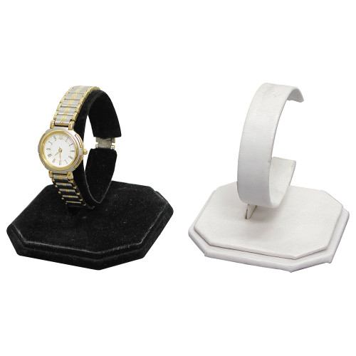 "Single Watch Display, 3 1/4"" x 3 1/4"" x 3 3/8""H,,Choose from various color"