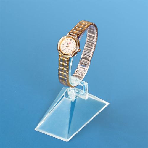 "Acrylic Watch Display, 2 1/4"" x 3"" x 3"" to 4 1/2""H"