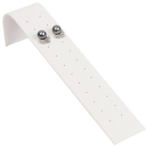 """Stud Earring Ramp Display 1 5/8"""" x 8"""" x 2"""" H"""