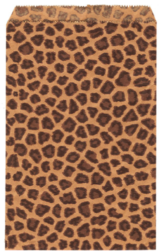 Leopard Paper Bags (Choose from various sizes)