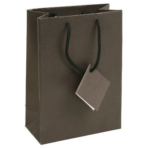 Chocolate Brown Tote Gift Bag,(Choose from various sizes),Price for 20 Pieces