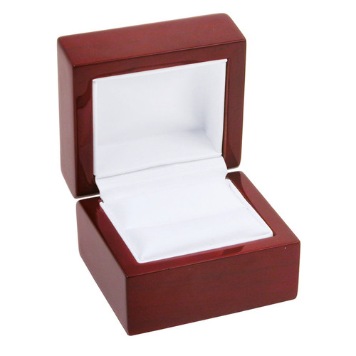"WR3 Rosewood Ring Box, 2 1/4"" x 2"" x 1 3/4"""