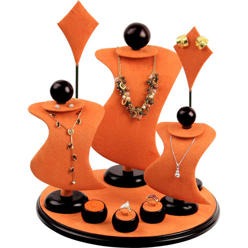 *CLOSEOUT!* Jewelry Display Set 56, 9pcs,