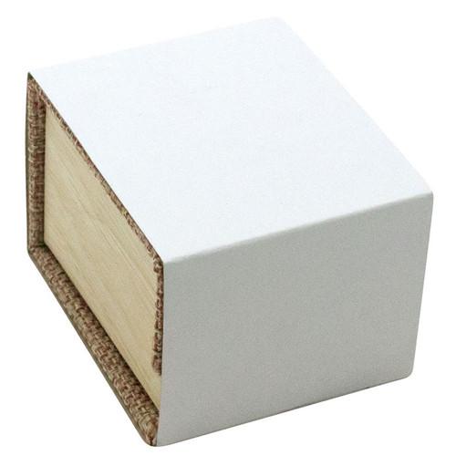 Magnetic Burlap Ring Box