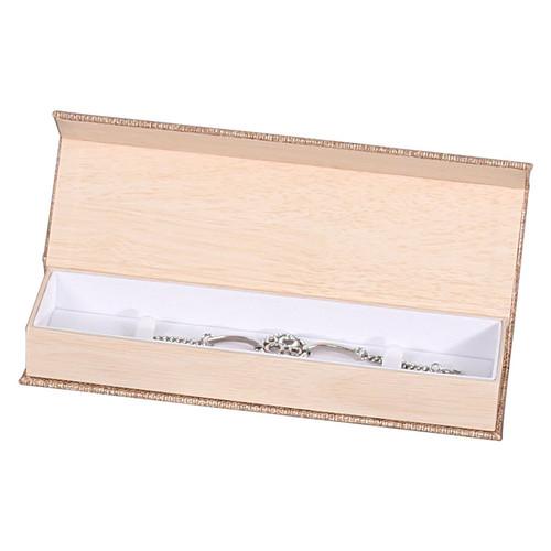 Magnetic Burlap Bracelet/Watch Box
