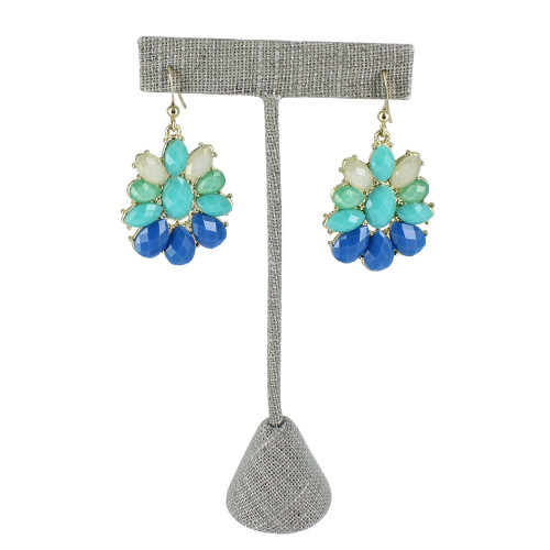 T-Shape Grey Linen Earring Display (Choose from various sizes)