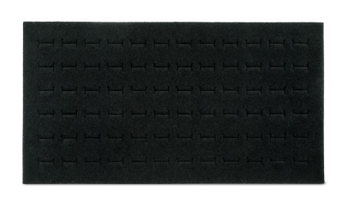 Foam 72-Ring Tray Insert Standard Size Black