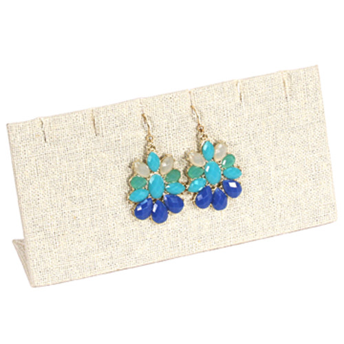 "Earring/Pendant Display , 6x2 3/4""H,(Choose from various Color)"