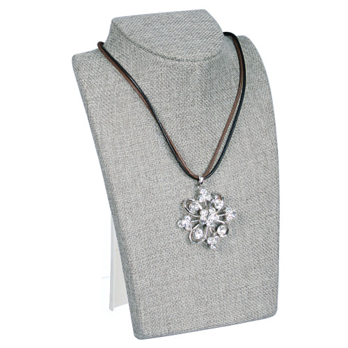 "Necklace Display, 5 5/8"" x 4 1/2"" x 8 1/4""H, 13 color"