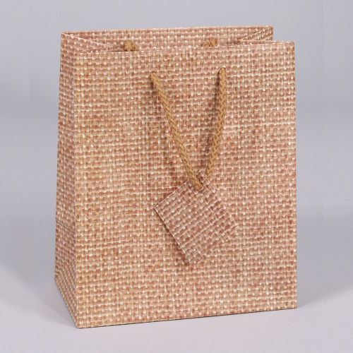 Natural Style Tote Gift Bag (Choose from various sizes),Price for 20 Pieces